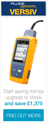 Save money when you trade in your old DTX or certification tester for a new Versiv DSX cable tester