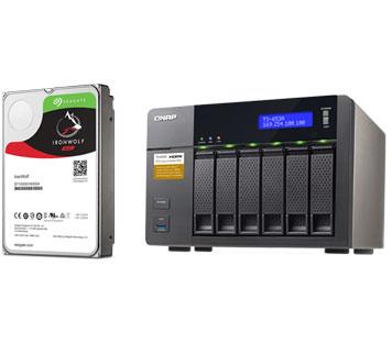 Seagate ST6000VN0041 Seagate Ironwolf - 6TB NAS HDD SATA 6Gb