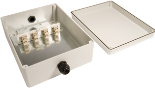 Fibre Distribution Box IP56 Rated - LC Connectors