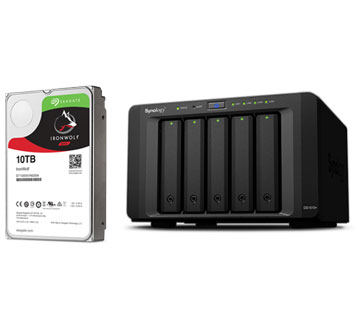 Be Creative Anywhere With IronWolf and Your NAS