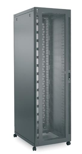 Usystems Server Rack with Glass Front Door