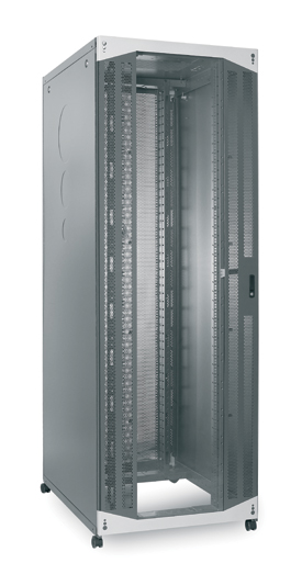 Usystems Server Rack with Glass Front Door