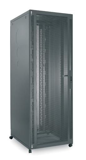 Usystems Server Rack with Mesh Front Door