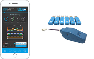 Patch App & Go T1 Network Tester & Tracer with 6 x Smart Remote Plugs