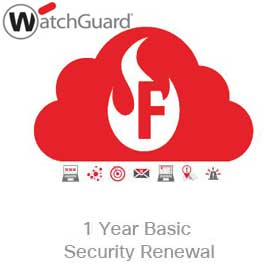 WatchGuard Basic Security Suite Renewal Upgrade 1-yr for Firebox Cloud XLarge