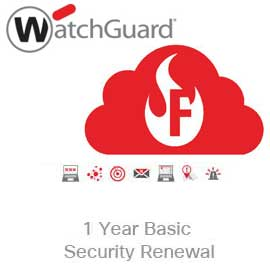 WatchGuard Basic Security Suite Renewal Upgrade for Firebox Cloud Large