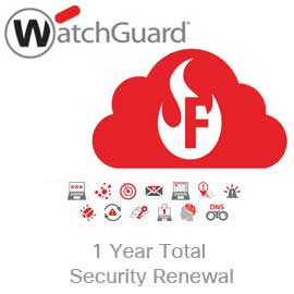 WatchGuard Total Security Suite Renewal Upgrade for Firebox Cloud Large