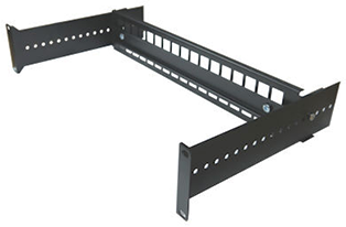 Datacel 19in Adjustable Rack Mount DIN Rail Panel