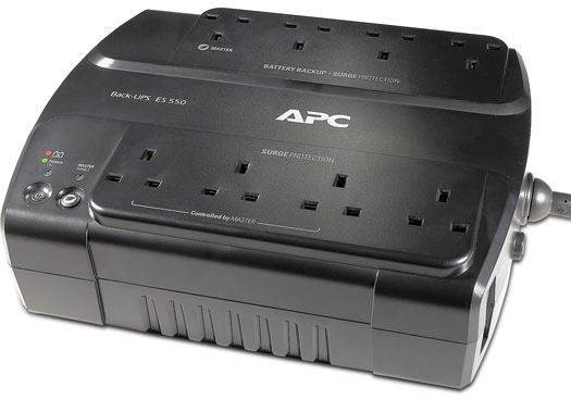 APC BE550G-UK Back-UPS 550VA
