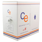 CE Cat5e Cable UTP External 4 Pair LDPE - 305mt Box