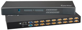 16 Port Cyberview USB KVM Switch
