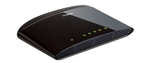 D-Link DES-1005D 5 Port 10/100 Fast Ethernet Desktop Switch