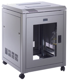 Prism PI 12u 600mm Wide x 600mm Deep Data Cabinet