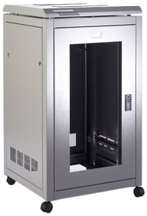 Prism PI 18u 600mm Wide x 800mm Deep Data Cabinet, Flatpack