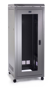 Prism PI 27u 600mm(w) x 800mm(d) Data Cab, Wardrobe Rear