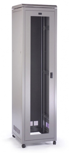 Prism PI 47u 600mm(w) x 600mm(d) Data Cab, Wardrobe Rear