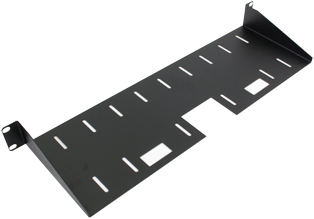 150m Deep Front Mounting Modem Shelf (1u)