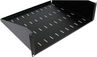 400mm Deep Front Mounting Modem Shelf (3u)