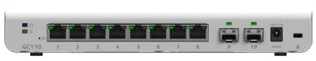 Netgear GC110P 8 port smart cloud managed switch