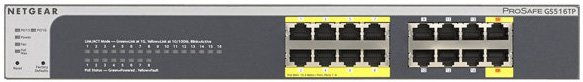 GS516TP Front panel