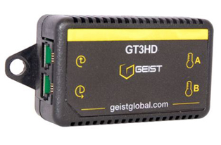 Geist Remote Temperature Sensor x 3, Humidity and Dew Point Sensor