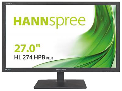 Hanns.G by Hannspree HL274HPB 27in Black Full HD LED display
