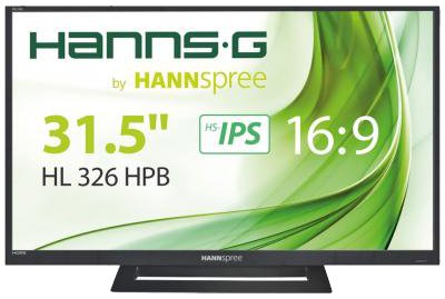 Hanns.G by Hannspree HL326HPB 31.5in Full HD HDMI HS-IPS Monitor