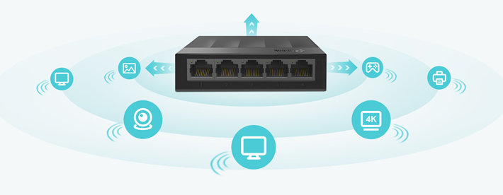 Gigabit Ports For Faster Speeds