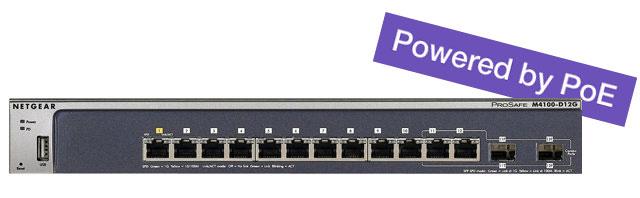 M4100-D12G Switch