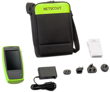 NetScout AirCheck G2 Plus EXT-ENT, Auto Charger, Holster