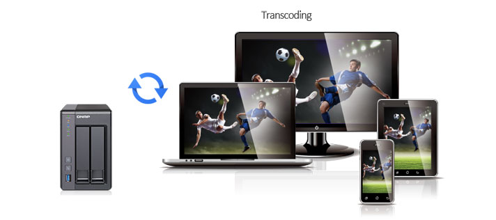 Real-time & offline video transcoding