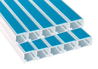 16 x 25mm Self Adhesive PVC Trunking (10 x 3mts)