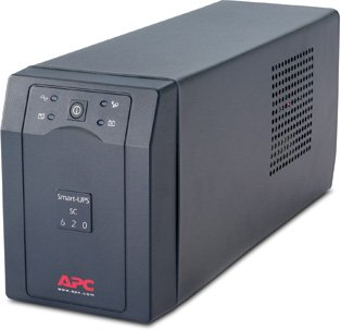 APC SC620I Smart-UPS SC 620VA uninterruptible power supply UPS