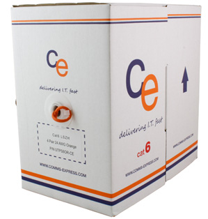 CE Cat6 Cable U/UTP Dca LS0H 305 Metre Box