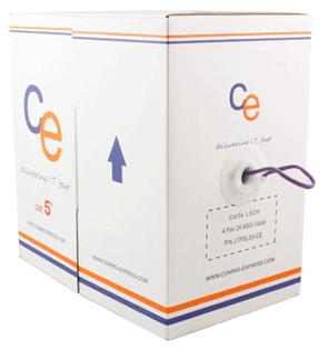 CE Cat5e UTP LSOH 4 Pair Cable - 305mt Box