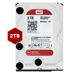 WD WD10EFRX Red 2TB 64MB 3.5 3.5 Inch SATA Hard Drive