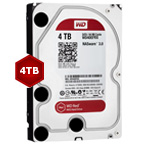 WD WD40EFRX Red 4TB 64MB 3.5 Inch SATA Hard Drive