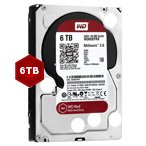 Western Digital 6TB Red 64MB 3.5 Desktop Sata 6GB