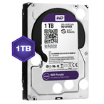 WD Purple 1 TB Internal HDD - 3.5 SATA 6Gb