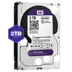 WD Purple 2 TB Internal HDD - 3.5 SATA 6Gb