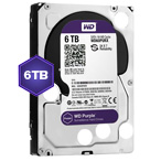 WD Purple 6 TB Internal HDD - 3.5 SATA 6Gb