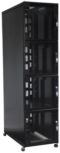 48u 4 Compartment 600 x 1000 Server Cabinet