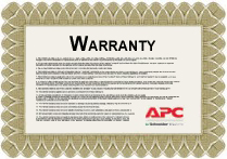 APC Extended Warranty Renewal