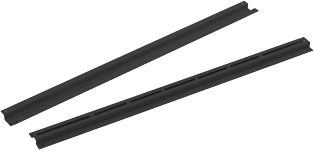 Usystems 4210 800d Depth Support Rail - for 800mm deep cabinet