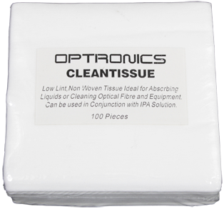 Optical Fibre Cleaning Tissue