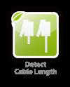 Cable length detectiom