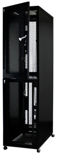 48u 2 Compartment 600 x 1000 Server Cabinet