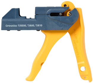 Fluke Networks JackRapid Termination Tool (For Ortronics TJ5E00, TJ600, TJ610)