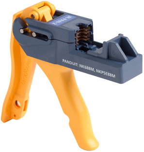Fluke Networks JackRapid Termination Tool (For Panduit NK688M, NKP5E88M)