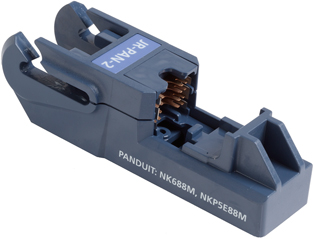Fluke Networks JackRapid Replacement Blade Head (for Panduit NK688M, NKP5E88M)